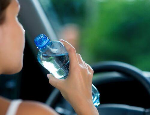Fahrfehler vermeiden: Mit Wasser fährt sich´s sicherer